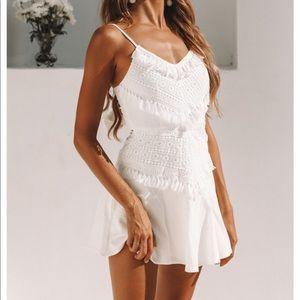 NEW Hello Molly white dress